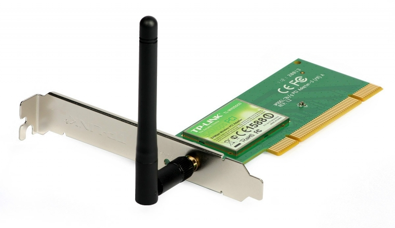 Placa de Rede TP-LINK Wireless PCI 54MBPS - TL-WN350GD